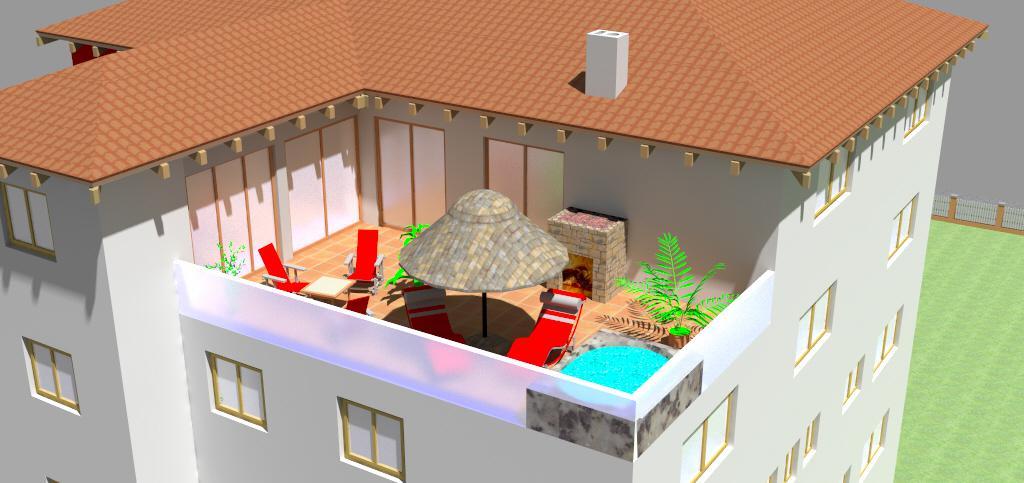 Bürogebäude mit Privatwohnung Schonstett 2