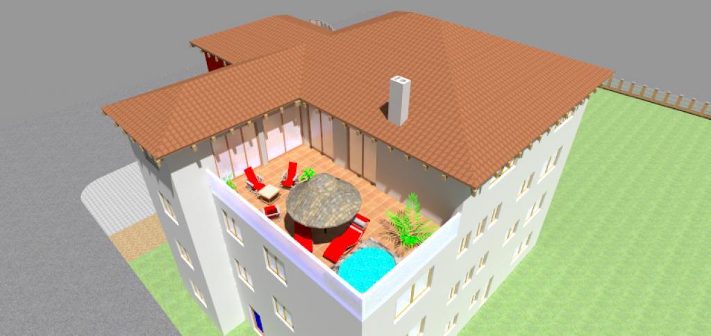 Bürogebäude mit Privatwohnung Schonstett 1