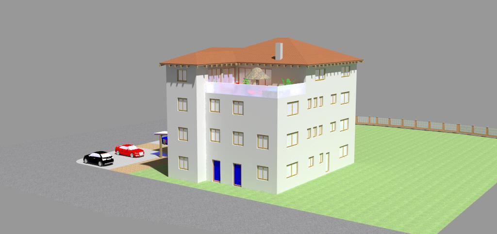 Bürogebäude mit Privatwohnung Schonstett 5