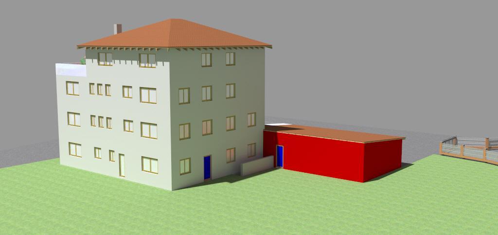 Bürogebäude mit Privatwohnung Schonstett 4
