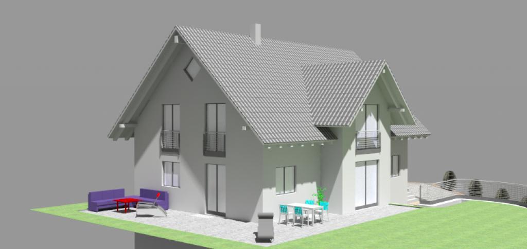 Einfamilienhaus Gammelsdorf 2